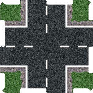 Silnice křižovatka