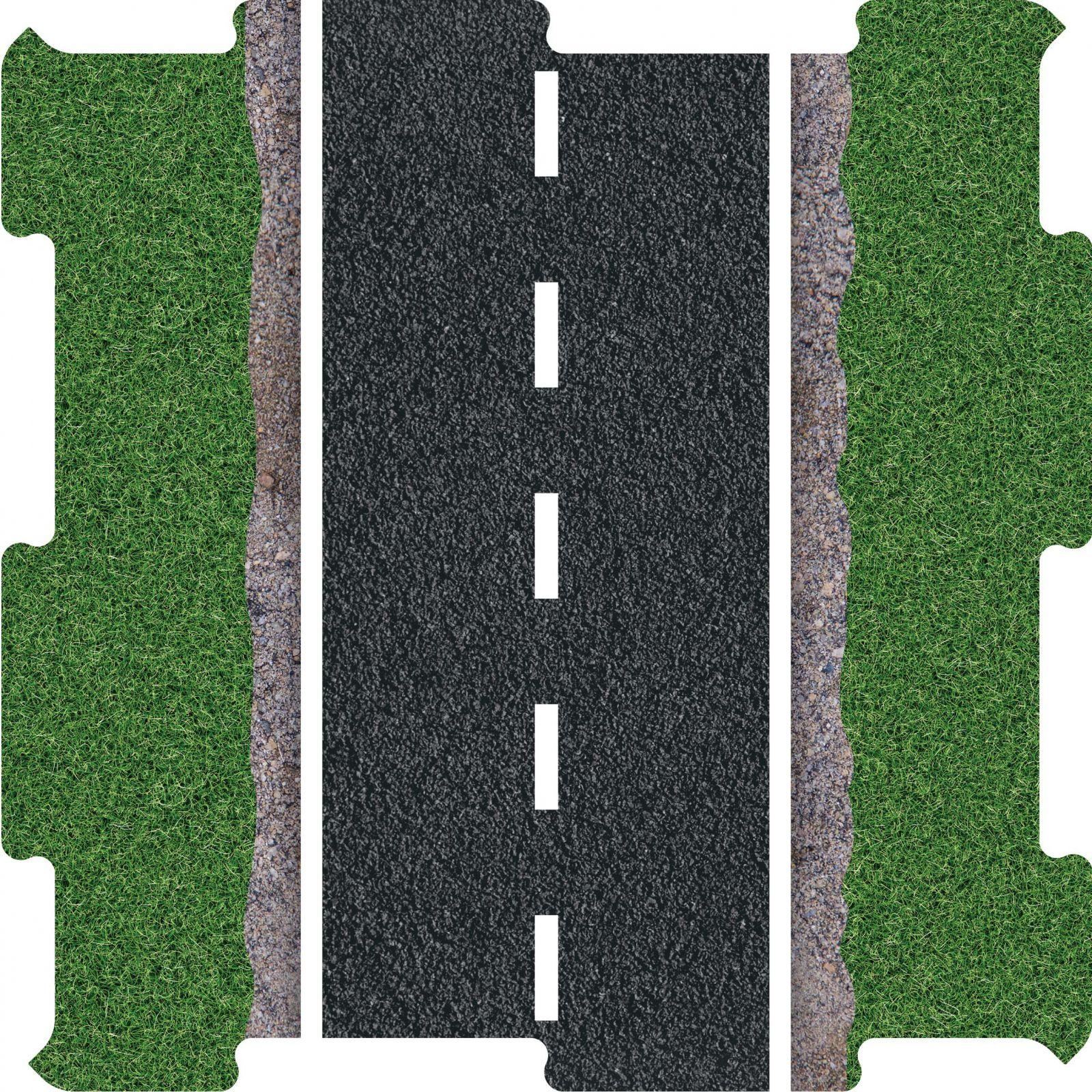 Podlahove puzzle silnice