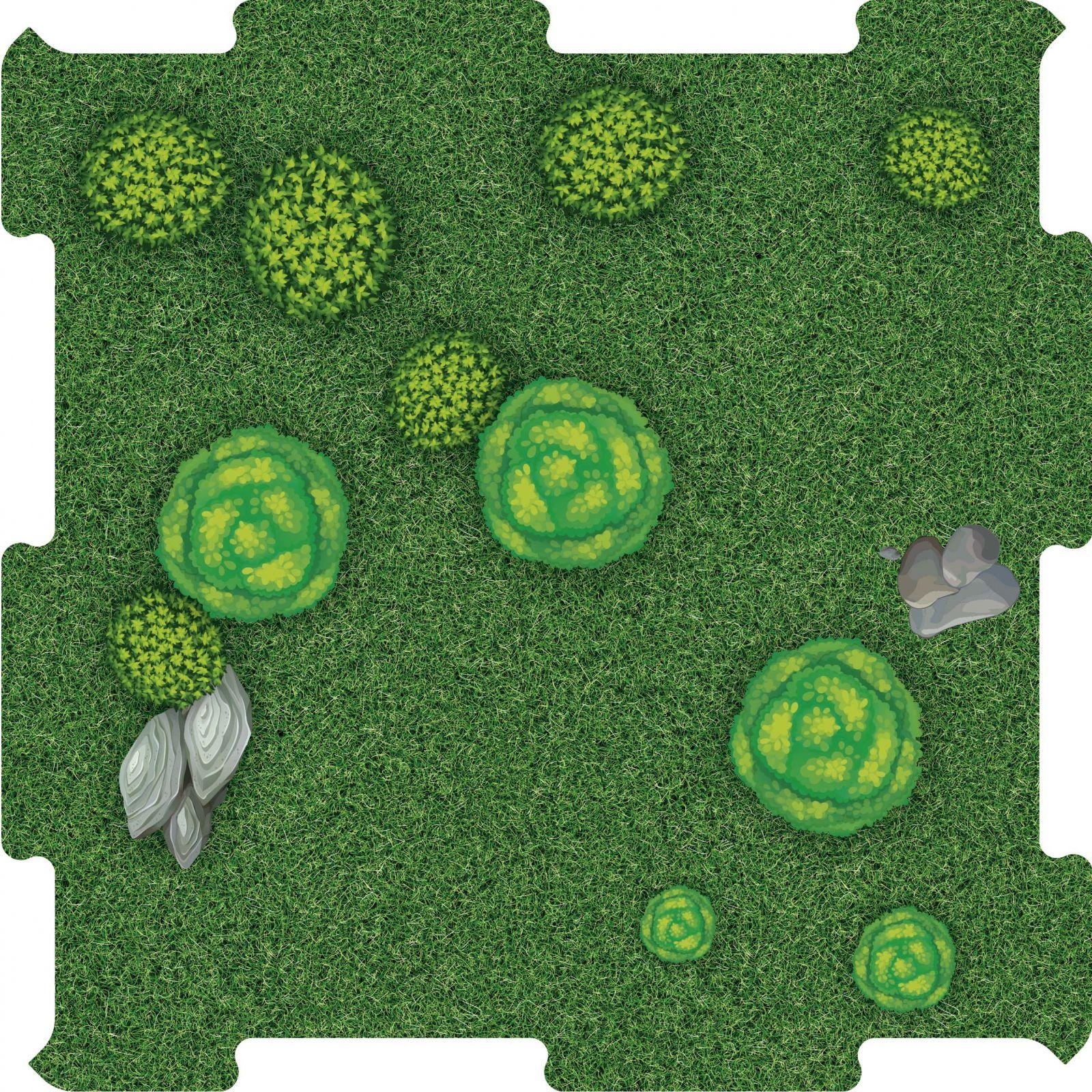 Podlahove puzzle stromy