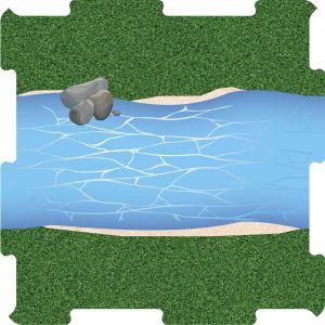 Podlahove puzzle reka