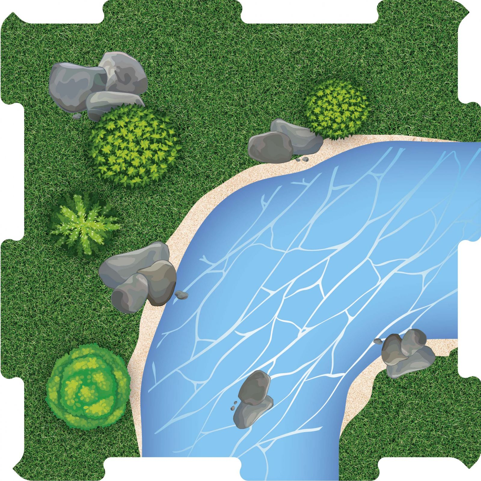 Podlahove puzzle reka zatacka 1