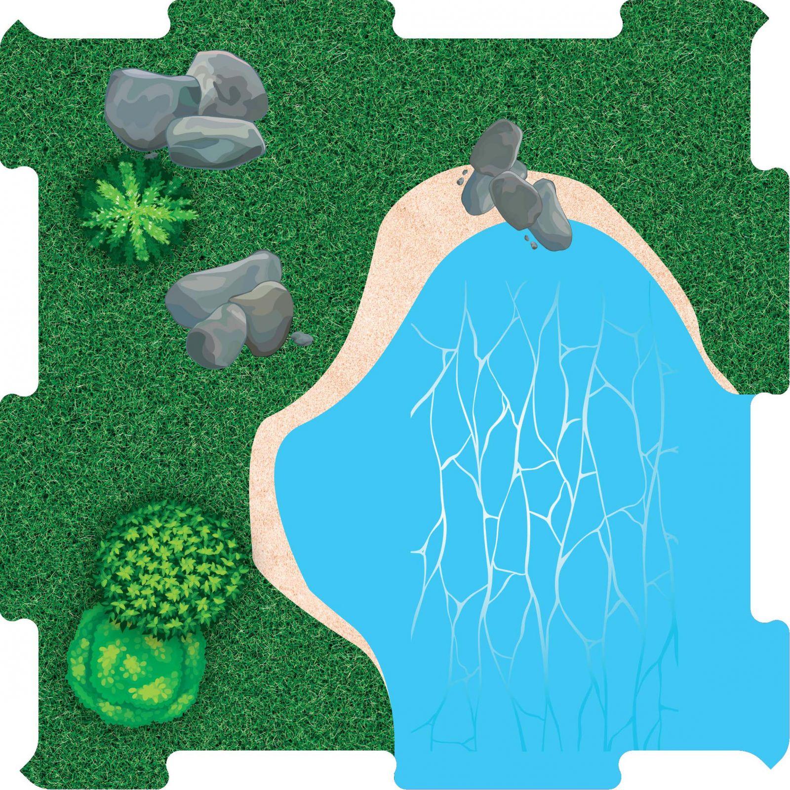 Podlahove puzzle voda roh vetsi