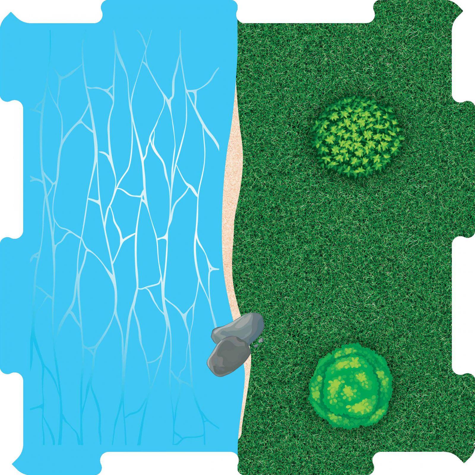 Podlahove puzzle vodni plocha pobrezi v.2