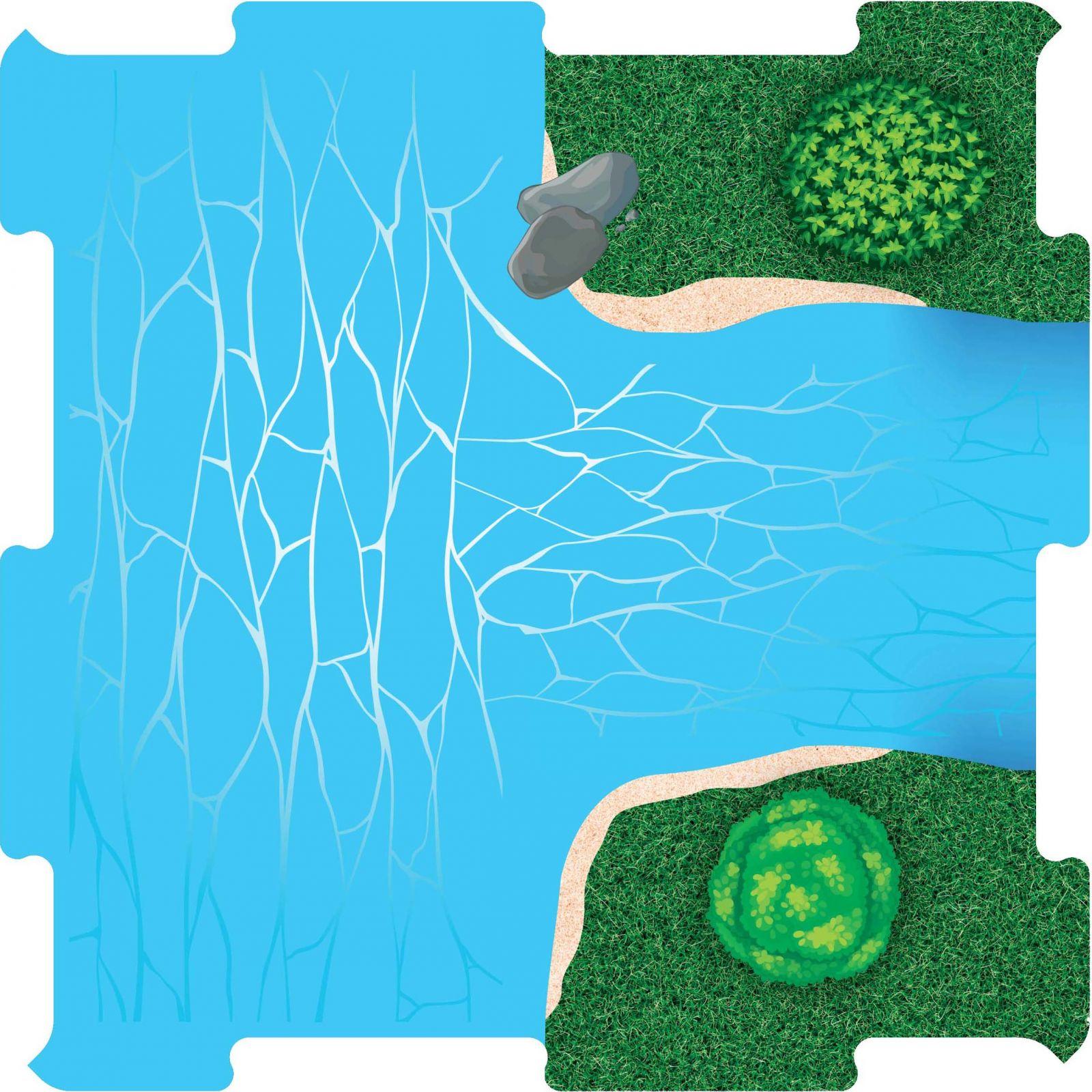 Podlahove puzzle usti reky