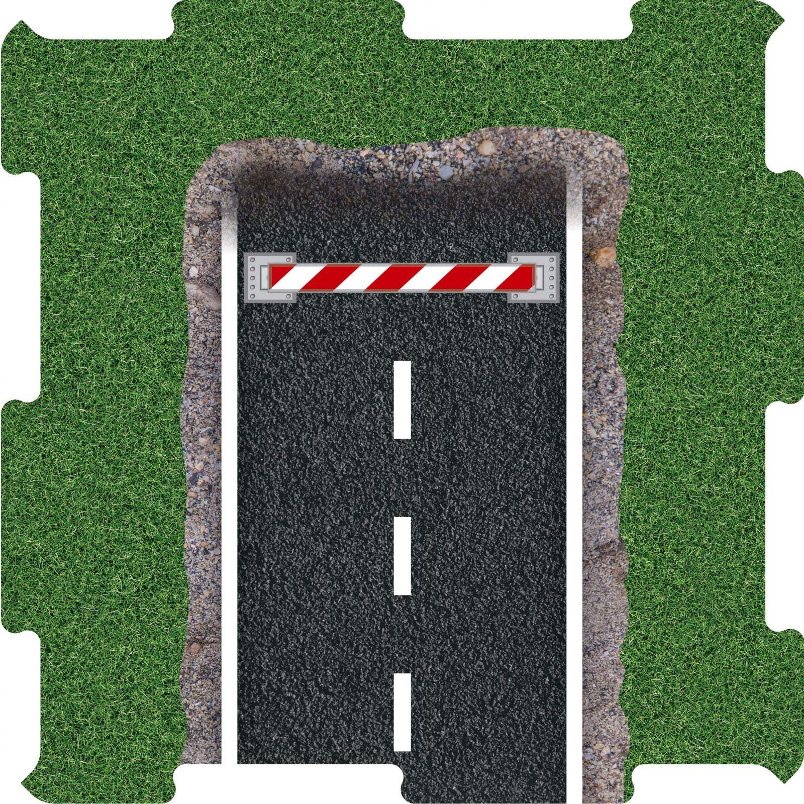 Podlahove puzzle konec silnice