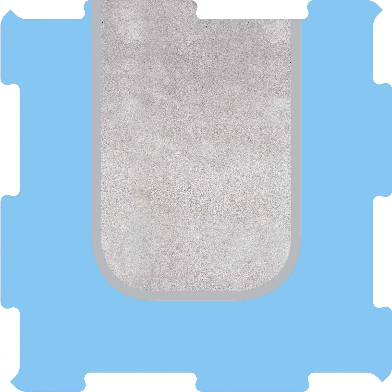 Podlahové puzzle přístav molo konec