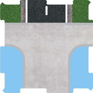Podlahové puzzle přístav molo začátek