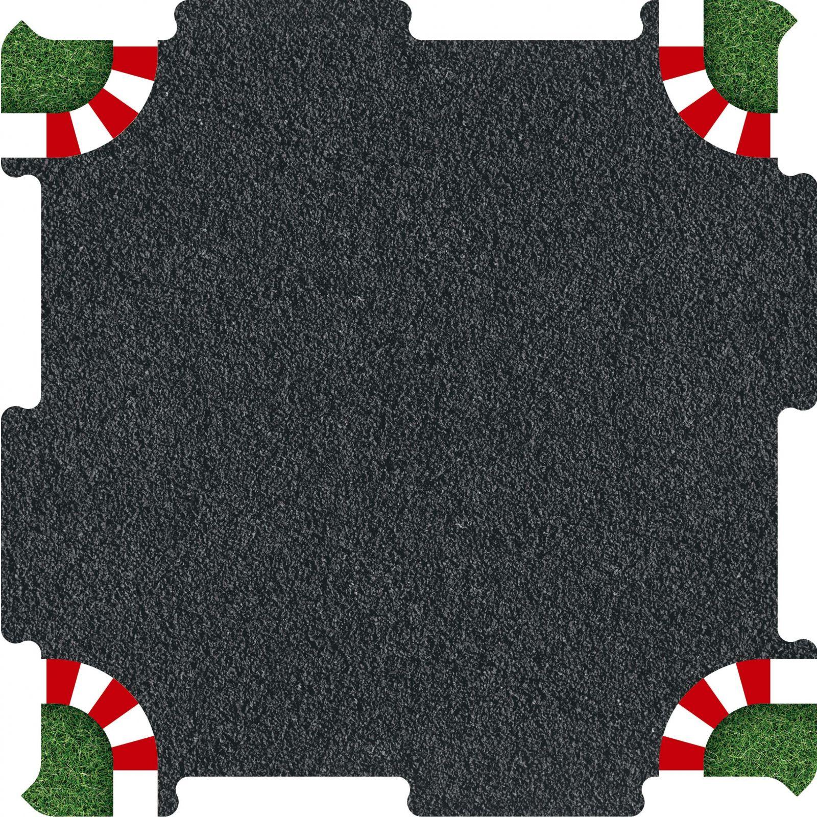 Podlahové puzzle závodní okruh křižovatka