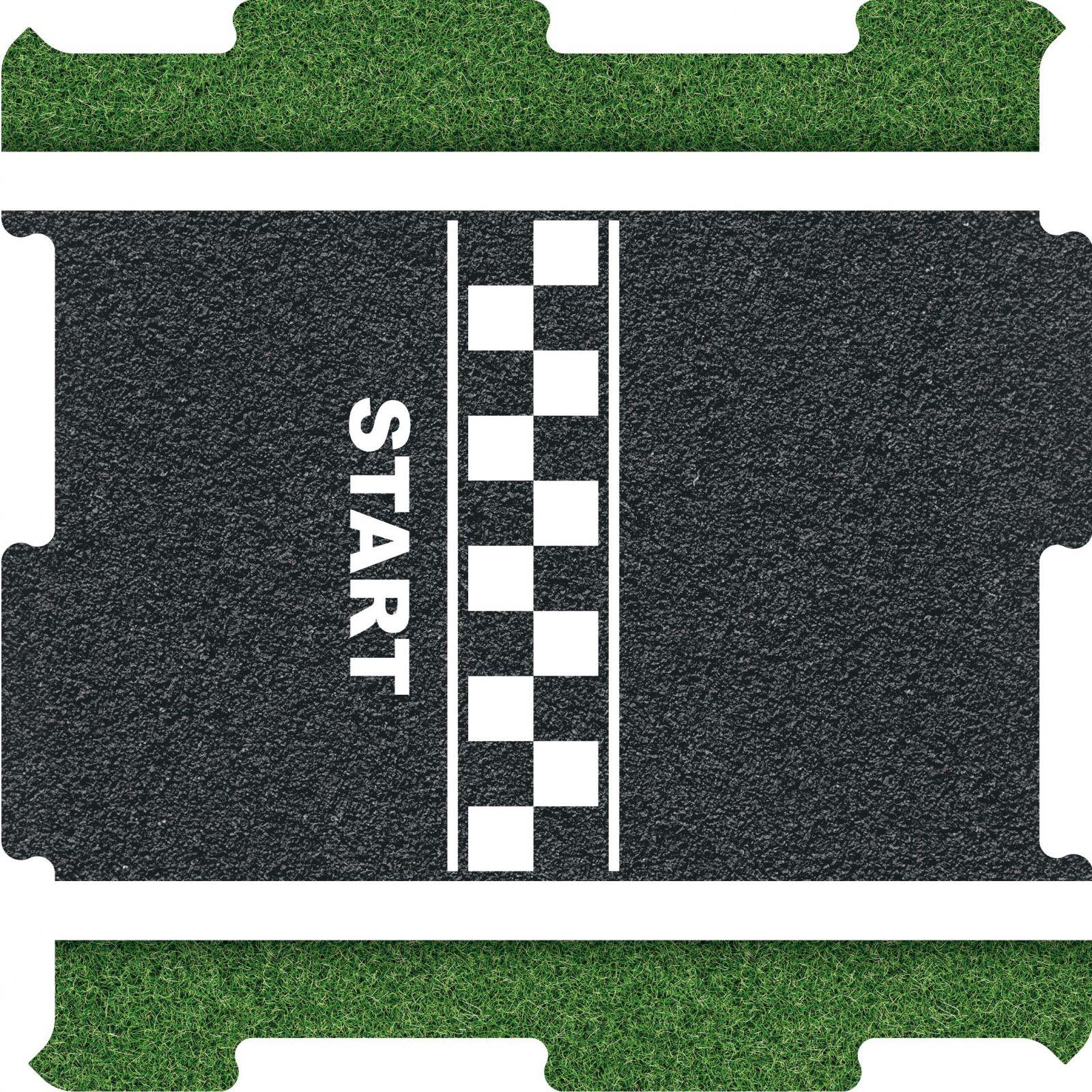Podlahové puzzle zavodní okruh START