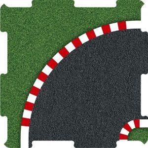 Závodní okruh zatáčka