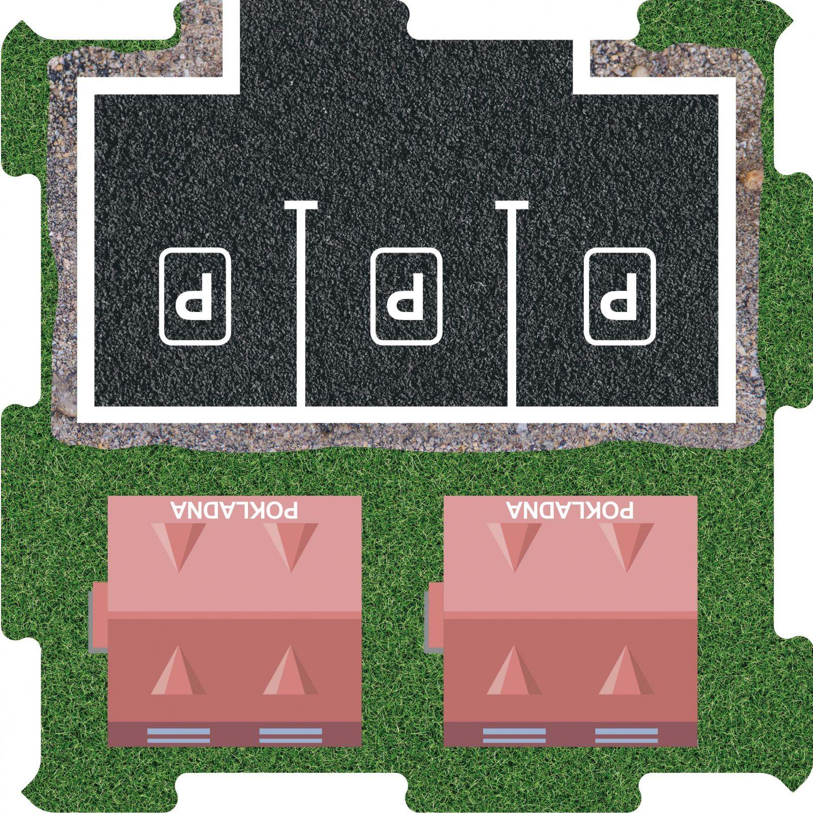 Podlahove puzzle ZOO Pokladna