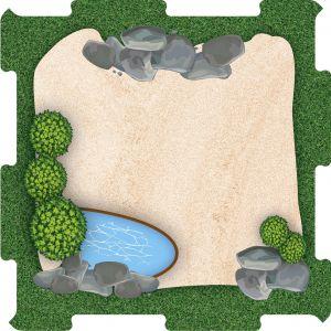 Zoo výběh pískový