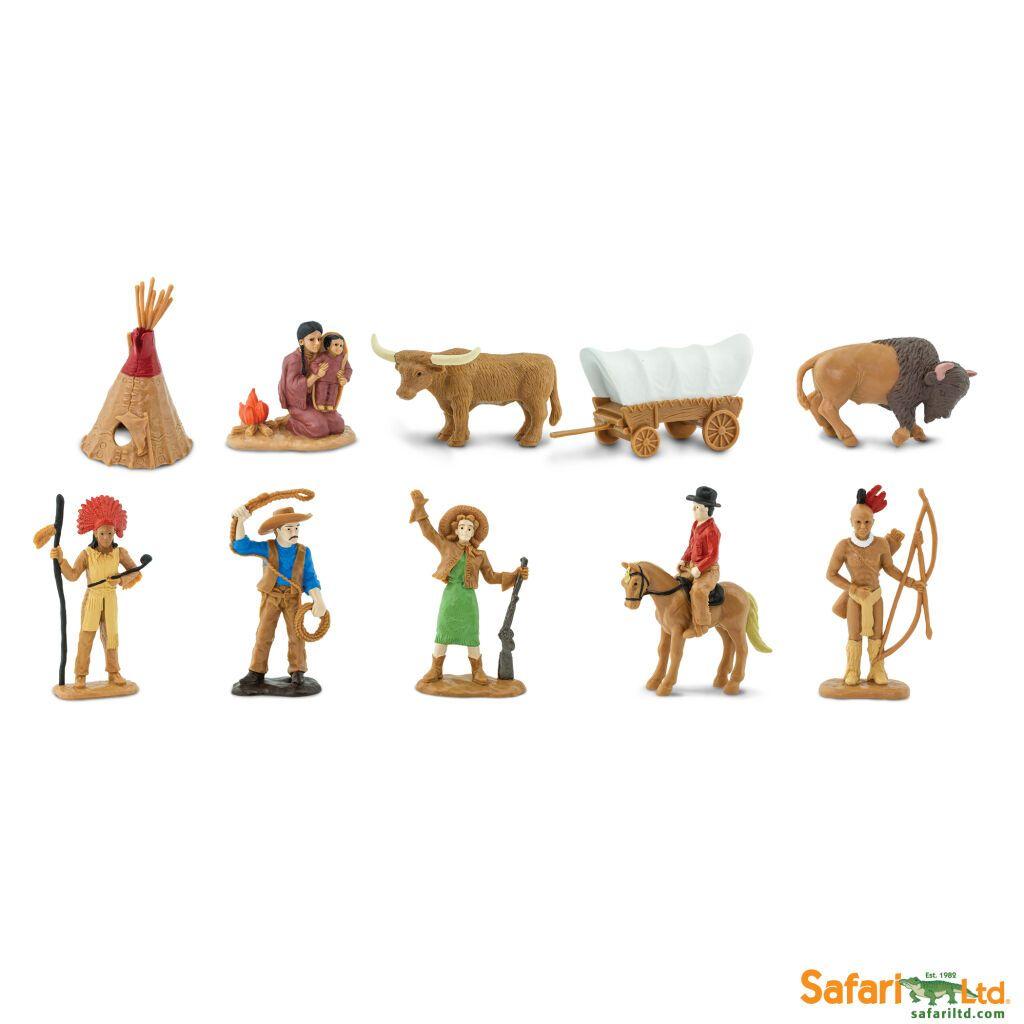 Safari Ltd - Tuba - Divoký západ 2
