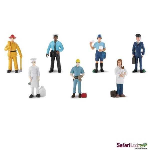 Safari Ltd - Tuba - Lidé v práci 1