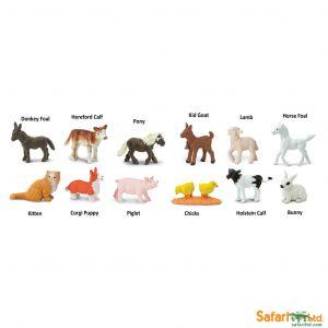 Safari Ltd - Tuba - Mláďata z Farmy 1