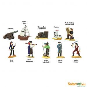 Safari Ltd - Tuba - Piráti 1