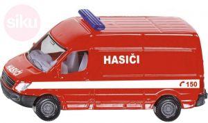 SIKU Auta Hasiči ČR požární vůz set 3ks model kov blister 1818
