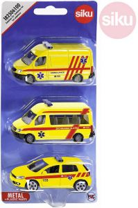 SIKU Auta Ambulance ČR set 3ks