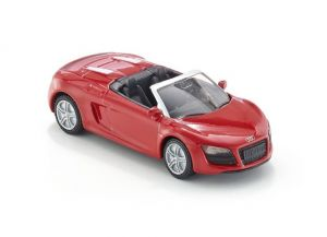 SIKU Auto Audi R8 Spyder Cabriolet na blistru 8 cm KOV