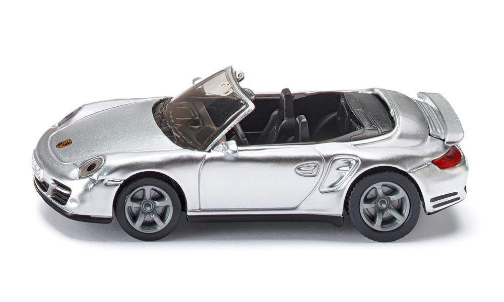 SIKU Auto Kabriolet Porsche 911 Turbo 1337