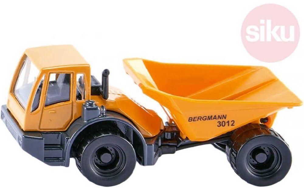SIKU Auto nákladní na stavbu Bergmann Dumper žlutý model kov 1486