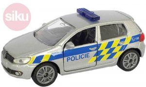 SIKU Auto Volkswagen Golf VI 2.0 TDI POLICIE
