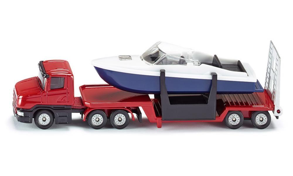 SIKU Auto s člunem kovové 1613