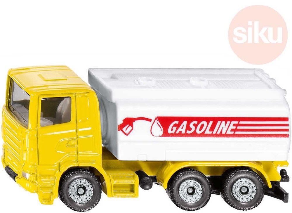 SIKU Auto Scania cisterna benzin kov 1387