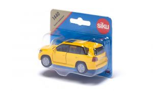 SIKU Auto Toyota Landcruiser žlutá model kov 1440