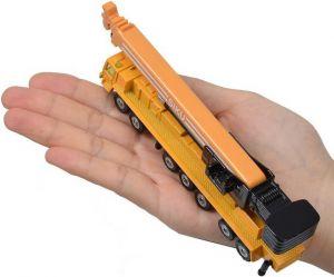 SIKU Autojeřáb žlutý těžký 1:55 model kov 1623