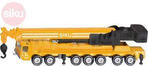 SIKU Autojeřáb žlutý těžký kov