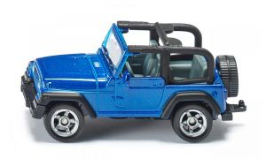 SIKU Jeep Wrangler kov