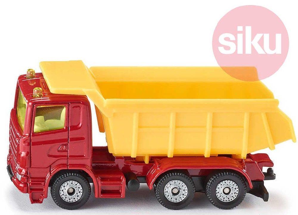 SIKU Model auto nákladní se sklápěcí korbou kov 1075