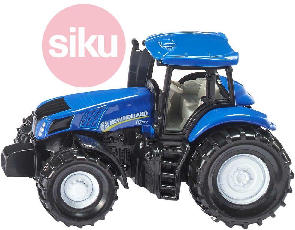 SIKU Model traktor New Holland modrý kov 1012