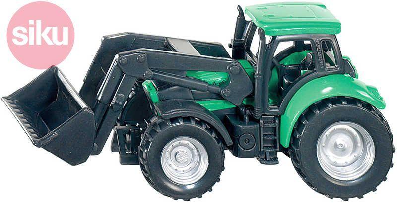 SIKU Traktor Deutz Fahr s nakladačem Na pole KOV + PLAST 1043