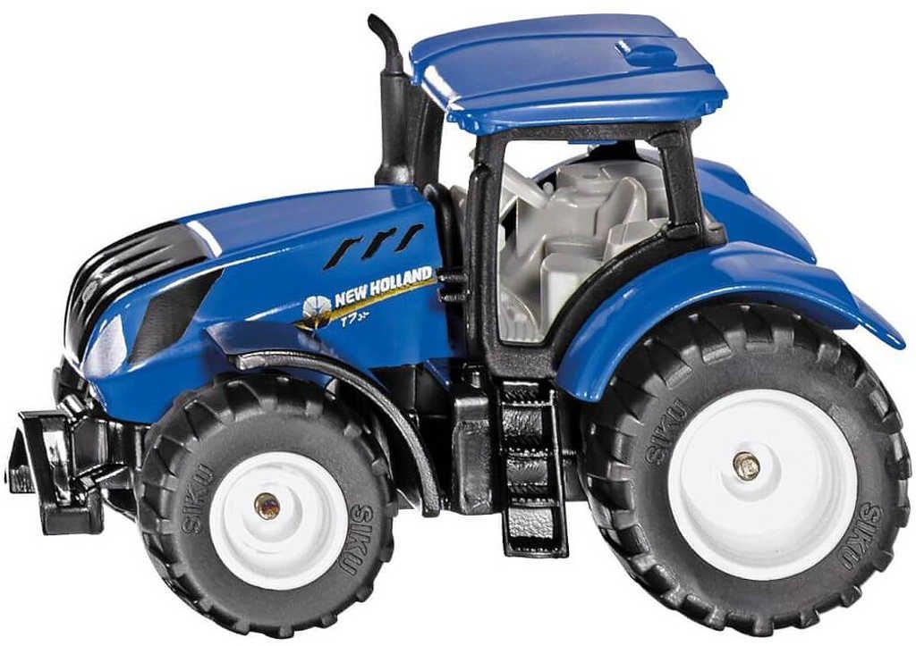 SIKU Traktor New Holland T7.315 modrý model kov 1091