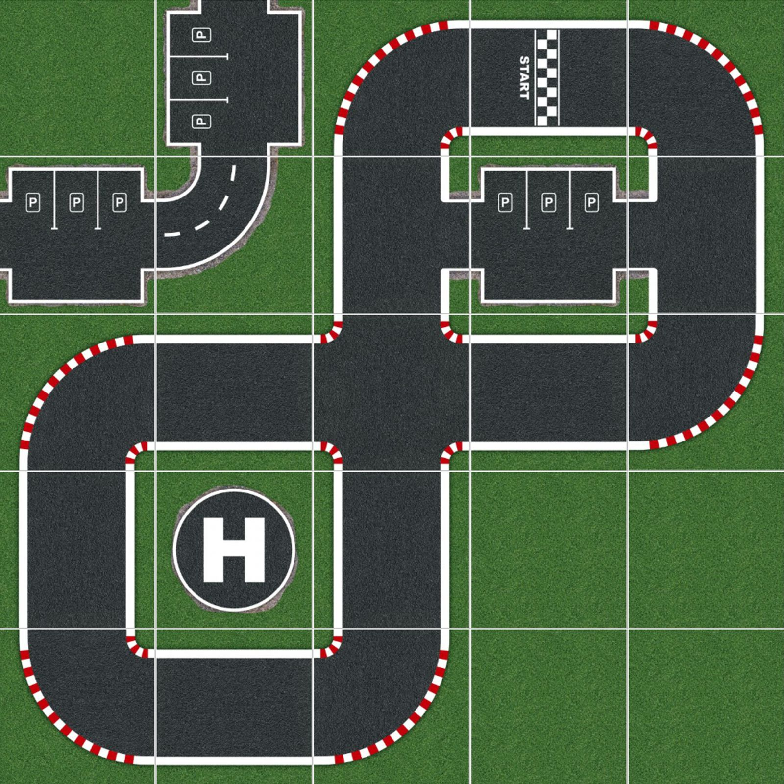 Podlahové puzzle Demolition Derby
