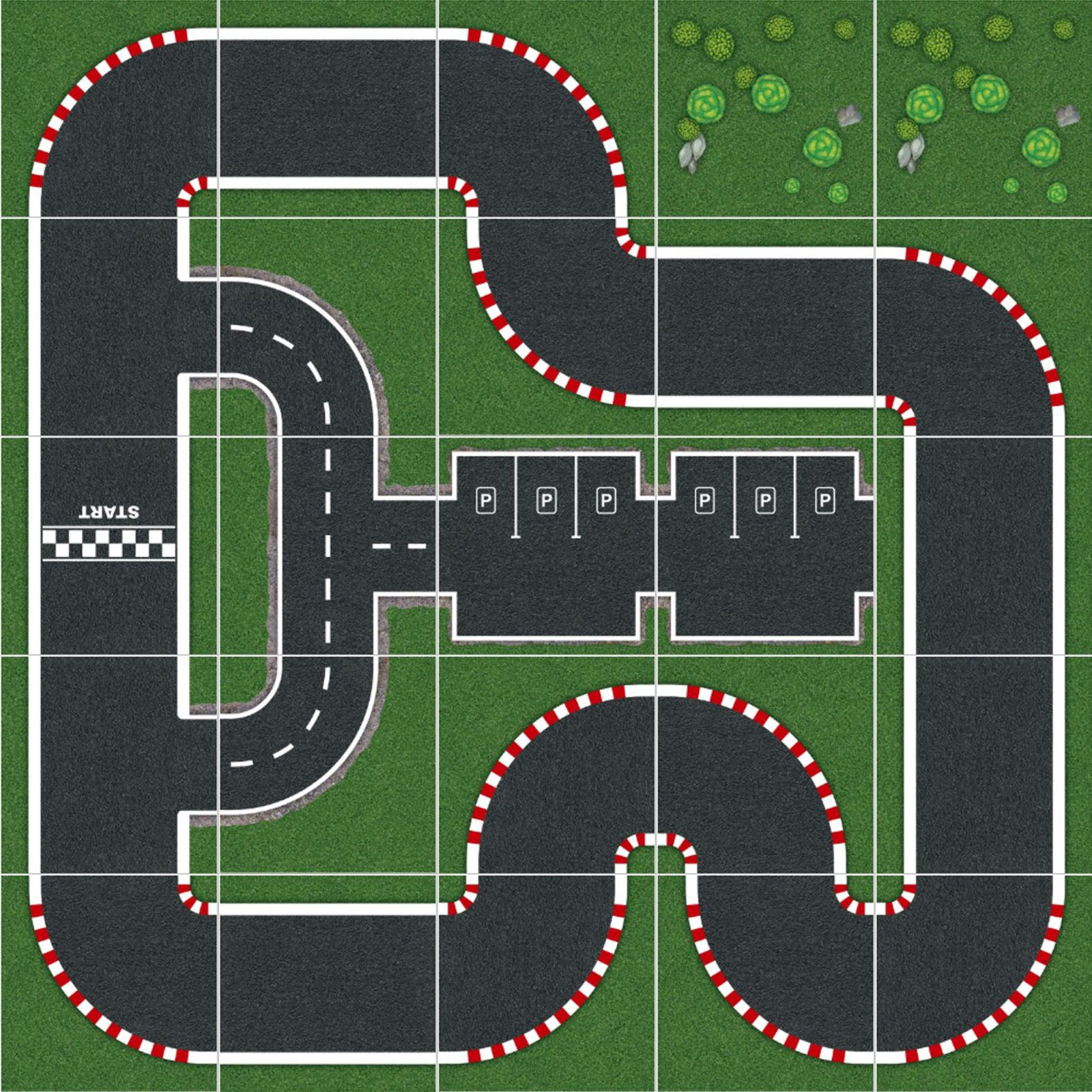 Podlahové puzzle zavodni okruh SpeedX
