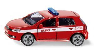 SIKU Auto osobní Volkswagen Golf VI 2.0 TDI Hasiči ČR model kov 1437