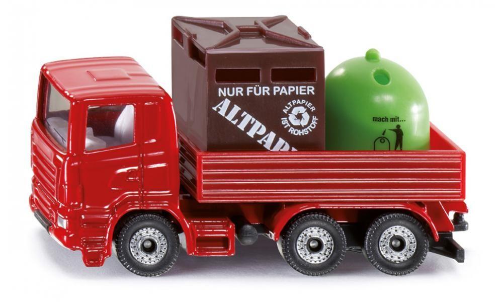 SIKU Auto recyklační na komunální odpad Set KOV 0828