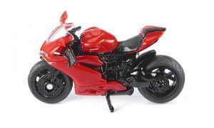 SIKU Motorka červená Ducati Panigale 1299