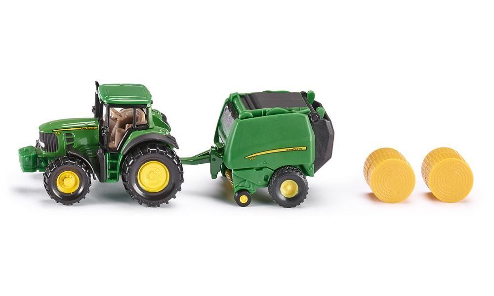 Siku traktor John Deere balíkovač 1665
