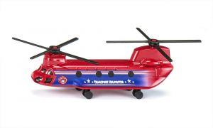 SIKU Vrtulník červený dopravní