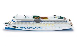 SIKU Výletní loď 1:1400 Zaoceánský parník kovový