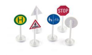 Značky a semafory